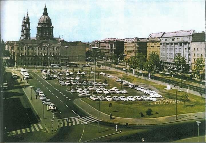1960-as évek. Engels (Erzsébet) tér.