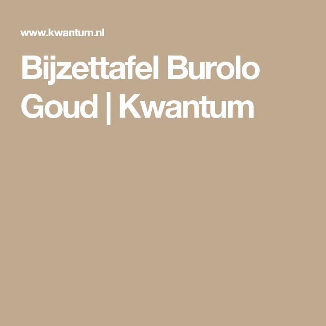 Bijzettafel Burolo Goud | Kwantum