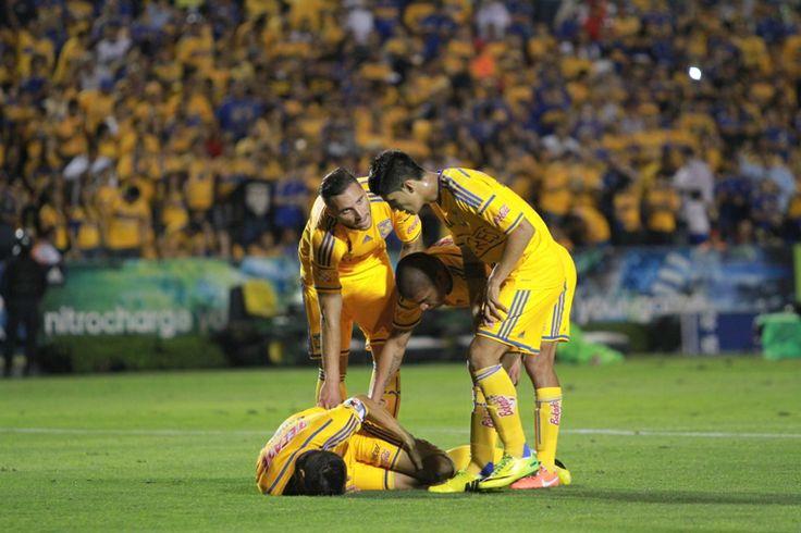 @CLUB TIGRES  Campeón de la Copa MX 3-0 vs Alebrijes de Oaxaca (09/04/14) Foto: Edgar Montelongo
