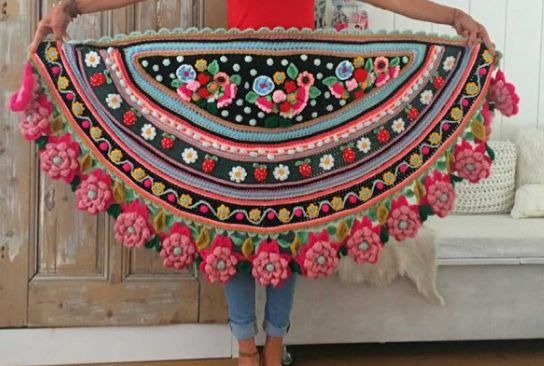 Adinda Zoutman y su maravilloso mundo crochet / Crochet Master | Crochet y Dos agujas - Patrones de tejido