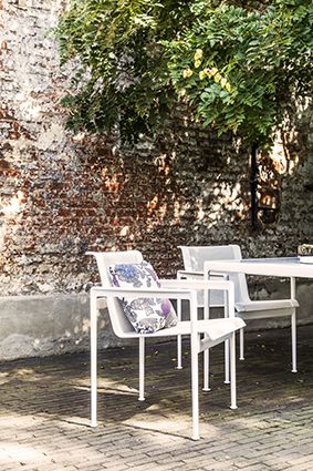 Knoll I Armchair I White I Design I Outdoor