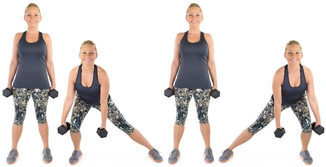 Alternating Side Lunges