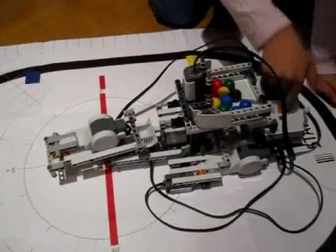video robot catapulta