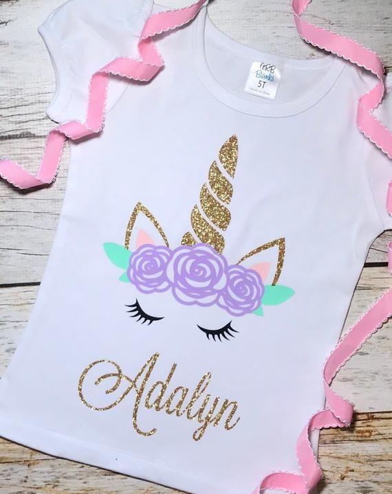 magical unicorn shirt Personalized Unicorn Shirt Unicorn Shirt Custom Unicorn Shirt unicorn gift unicorn birthday Girls Unicorn tshirt Unicorn Birthday Shirt boho unicorn shirt unicorn theme