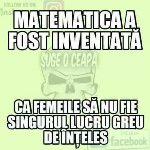 De ce a fost inventata matematica?