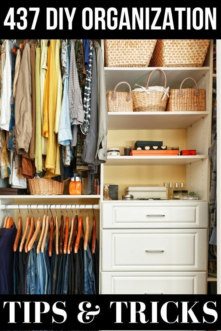 437 legit diy tips to organize your home like a pro projects for