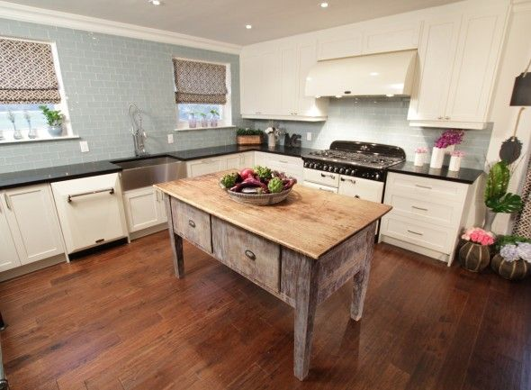 Pale Blue U0026 White U0026 Reclaimed Wood: This Is Wonderful, Classic Kitchen    The. Property Brothers KitchenDesign ... Part 46