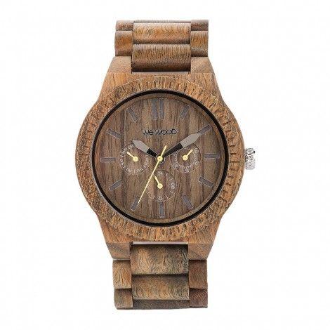 WeWOOD KAPPA Army houten horloge - Horloges.nl