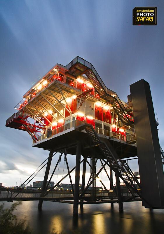Restaurant in the Sky © Tim Collins | Amsterdam Photo Safari