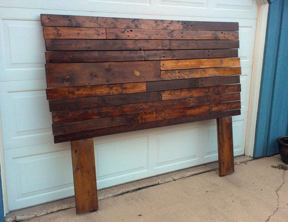 Reclaimed Headboard by OneMarbleShort on Etsy, $199.00