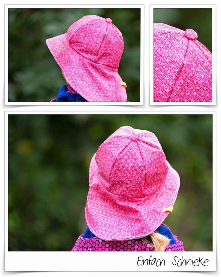 doppelpack: Regenhut zum Wenden für Kinder