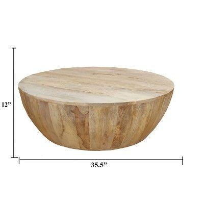 Mango Wood Coffee Table Camel – The Urban Port