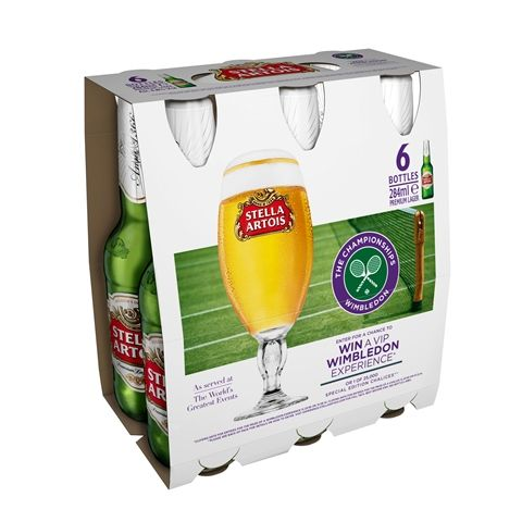 BEER NEWS -  Stella Artois are running a new on-pack promotion to give consumers the chance to attend some of this summer's most exciting events. As the official beer and cider partner of The Open Championship and the official beer supplier of Wimbledon consumers will be able to watch these championships if they win the on-pack promotion.
