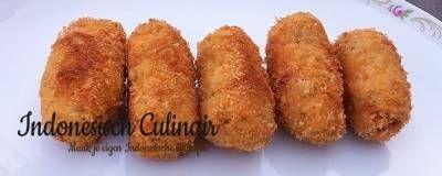 Kroket Tempeh - Indonesisch recept | m.indonesisch-culinair.nl