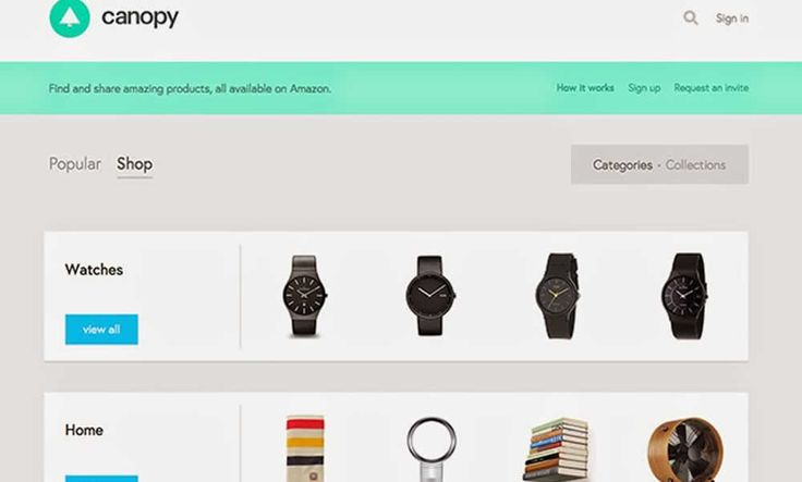 Canopy – A Curated Storefront For Amazon | http://www.hashslush.com/canopy-curated-storefront-amazon/ | #NEWS
