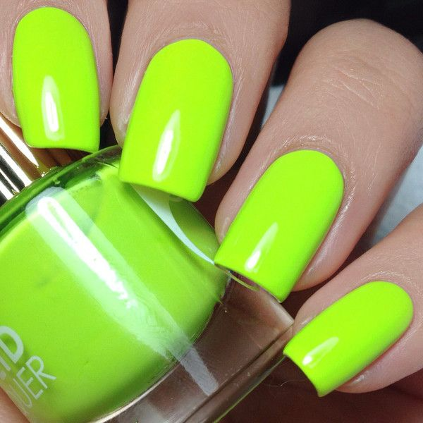 Con Limon Nail Polish ($12) ❤ liked on Polyvore featuring beauty products, nail care and nail polish