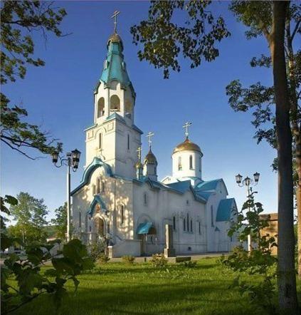 St. Katherine church Yuzhno-Shaklanisk, Sakhalin Island, Russia
