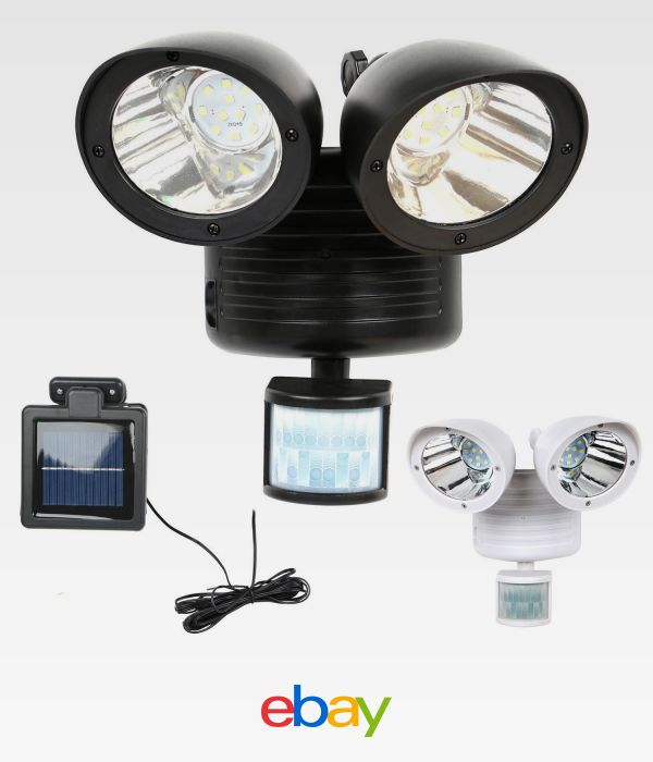 208 best outdoor oasis images on pinterest outdoor ideas outdoor dual security detector solar spot light motion sensor outdoor 22 led floodlight mozeypictures Images