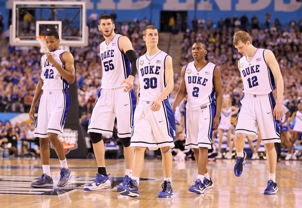 lance thomas, brian zoubek, jon scheyer, nolan smith, and kyle singler.  2010 national champions. these boys made phone booth cry (in a happy way...)