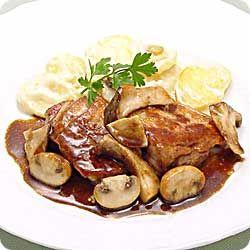 鶏ときのこのソテーバルサミコソース (レシピNo.964)|ネスレ バランスレシピ