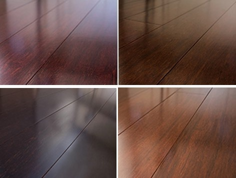 Bamboo flooring: Dark Colors