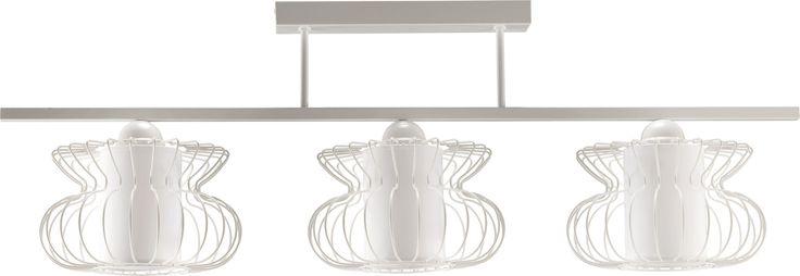 Lampa sufitowa VALERIA 3 z abażurem w stylu industrialnym dostępna na naszej stronie www.przystojnelampy.pl   #lampa #sufitowa #lamp #lamps #lampy #oświetlenie #styl #industrialny #industrial