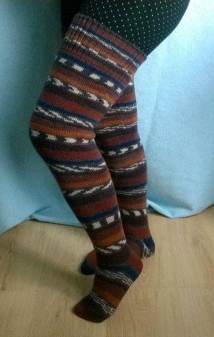 Гольфы тёплые, мягкие связаны из турецкой  шерстяной пряжи Alize, рекомендованной для чулочно -носочных изделий Благодаря эластичному вязаному  полотну  изделие, легко принимает форму ноги от 35 до 39 размера.