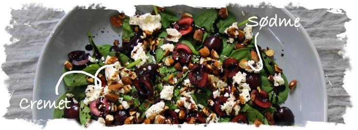 spinatsalat-med-kirserbær