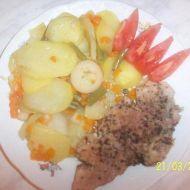 Fotografie receptu: Vepřové maso na česneku v parním hrnci