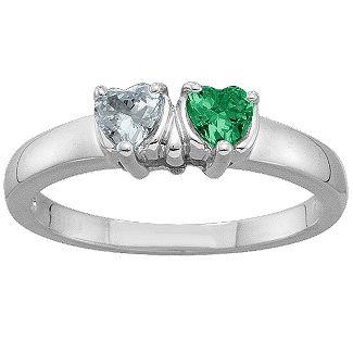 2-5 Hearts Ring | Jewlr