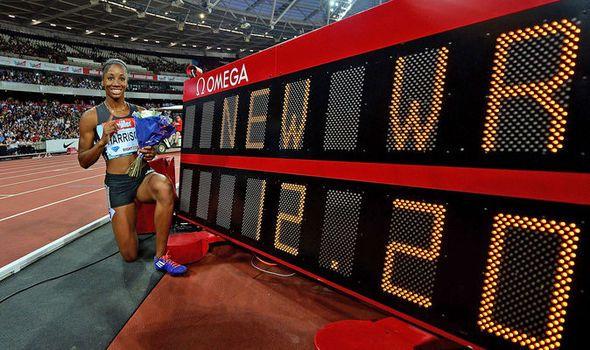 Anniversary Games: Bolt wins 200m as Kendra Harrison smashes 100m hurdles world record