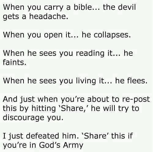 Soldier of God!