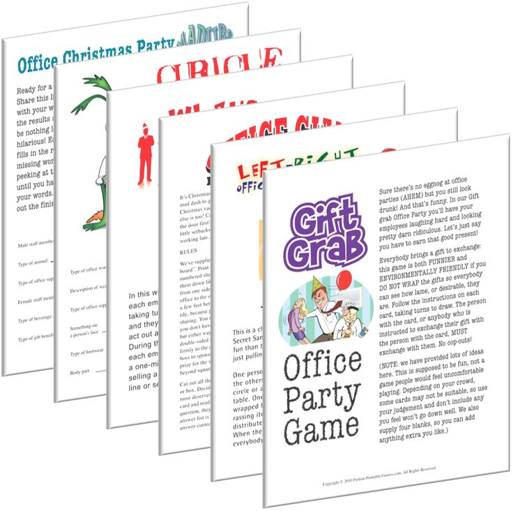 Christmas Games Office Party: 7 Best Printable Games For The Office Images On Pinterest