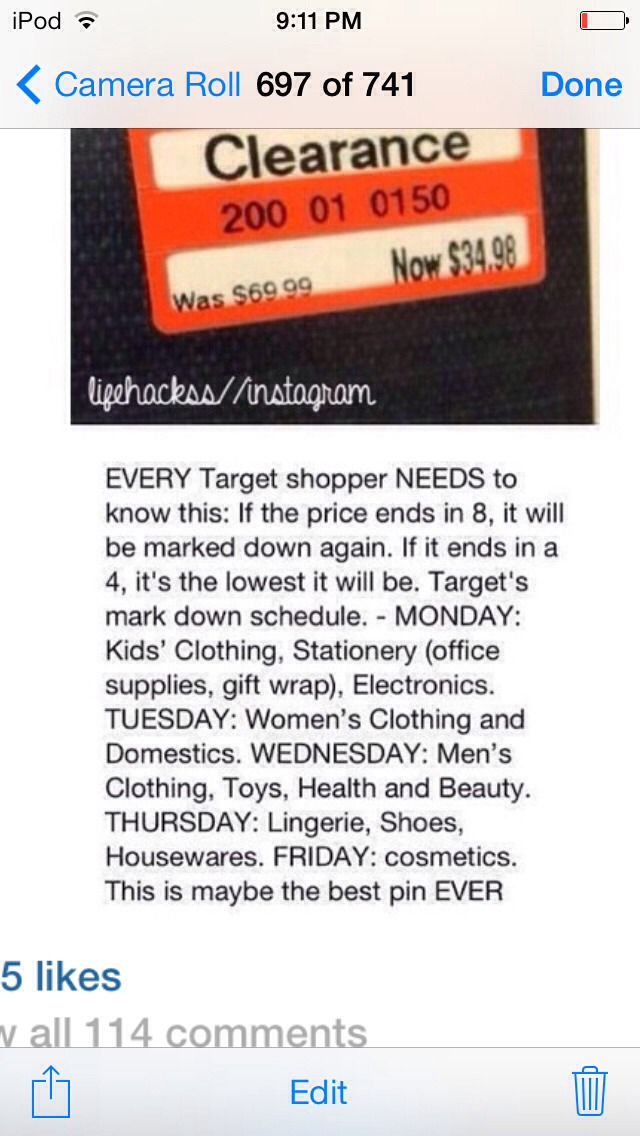 Targets Sales Days