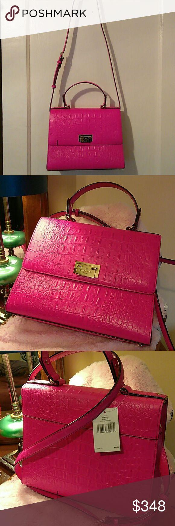 Purse Rich Hot Pink Purse kate spade Bags Shoulder Bags