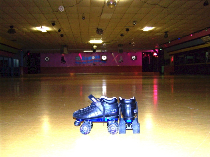 Ramona Roller Rink, Sister Lakes, MI  14.2 Miles from Southwestern Michigan College