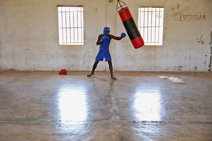 Boxing Cuba Ezra Shaw