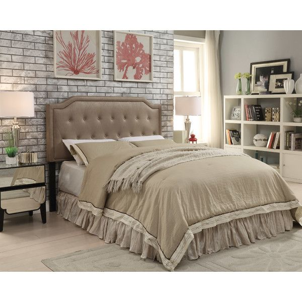 Stony Point Upholstered Headboard by Three Posts (Wayfair)
