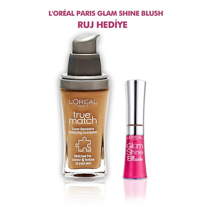 L'Oréal Paris True Match Fondöten N4 Nude Beige 34.99 TL