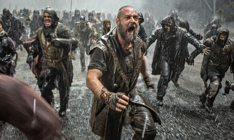 'The least blblical film ever made' … Russell Crowe in Noah. Photograph: Sportsphoto Ltd./Allstar