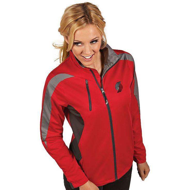 Women's Antigua Portland Trail Blazers Discover Pullover, Size: Medium, Dark Red