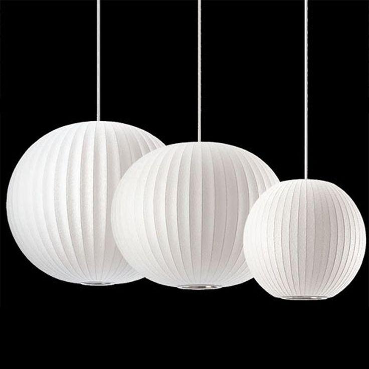 Trouver plus clairage suspendu informations sur george nelson bal moderne lampe bulle lampes de - Lampe a bulle ...