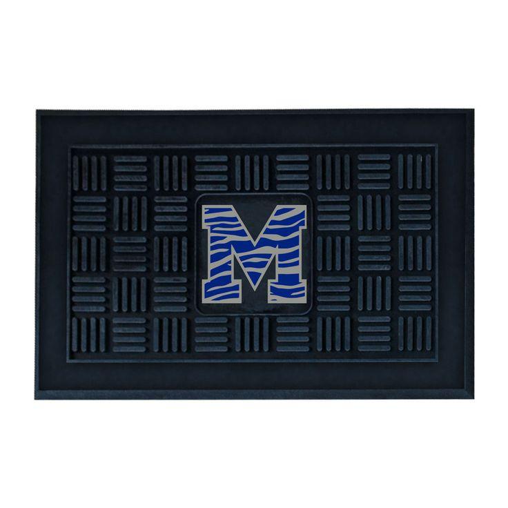 Memphis Tigers Welcome Door Mat