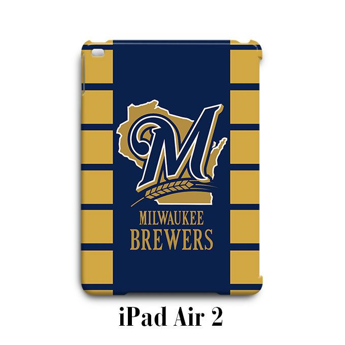 Milwaukee Brewers Custom iPad Air 2 Case Cover Wrap Around