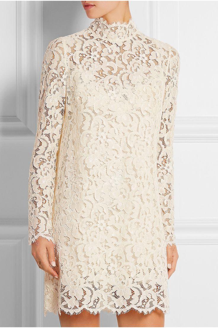Dolce & Gabbana|Guipure lace mini dress|NET-A-PORTER.COM