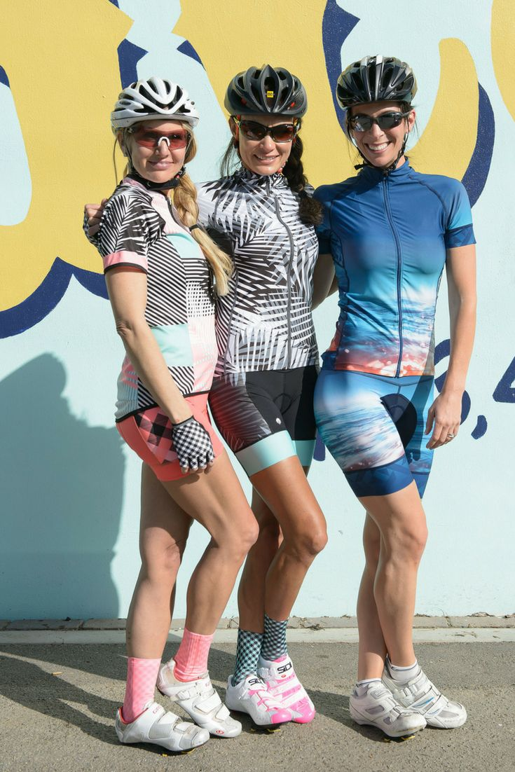 Look and feel like a BEEST! Women's bold Cycling Apparel from shebeest. Our women's cycling jerseys, cycling shorts, capris, and pants are perfect for indoor or outdoor cycling! The bold patterns and designs will be sure you stand out in all the right ways! #womenscycling