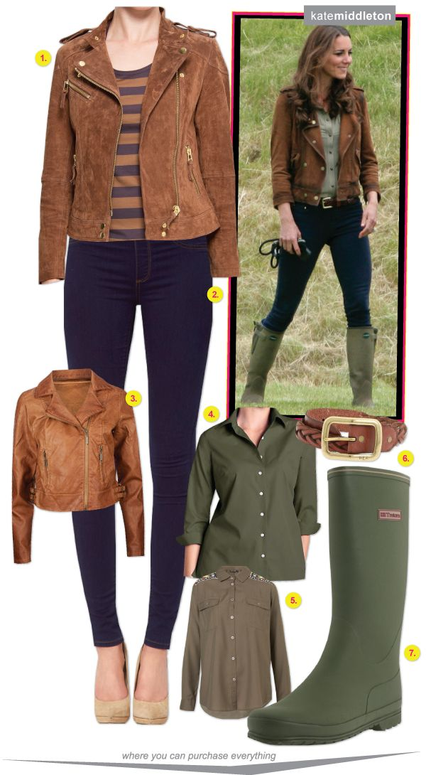 New Blog Post: Kate Middleton's rain-ready ensemble & how to get her look: http://richesforrags.blogspot.com/2012/10/no-one-has-fall-style-pegged-better.html #KateMiddleton