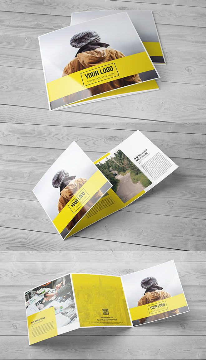 best 25 creative brochure design ideas on pinterest. Black Bedroom Furniture Sets. Home Design Ideas