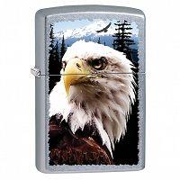 Zapalniczka Zippo American Eagle, Street Chrome