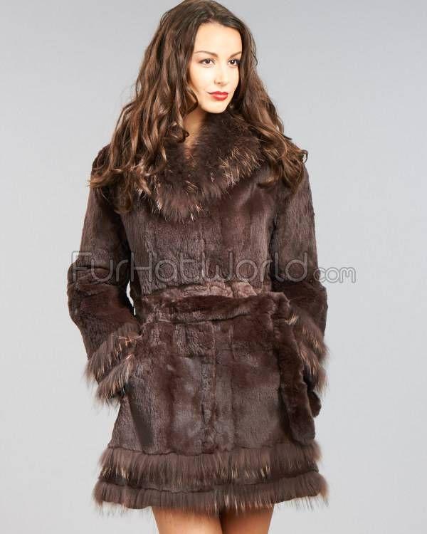 1000  ideas about Rabbit Fur Coat on Pinterest | Vintage fur coat
